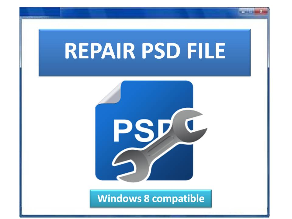 PSD File Repair